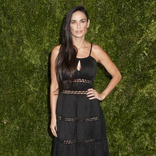 Demi Moore in 2015 CFDA Vogue Fashion Fund Awards
