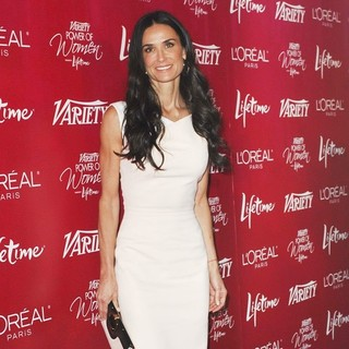 Demi Moore in Variety's 3rd Annual Power of Women Luncheon