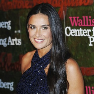 Demi Moore in Opening Night Gala of The Wallis Annenberg Center for The Performing Arts