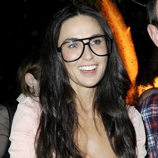 Demi Moore in OHWOW and HTC Celebrate The Release of Terrywood with Terry Richardson