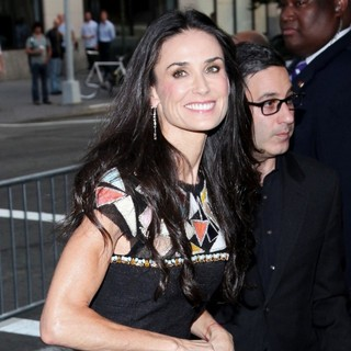 Demi Moore in Lifetime's Screening of Five