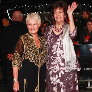 Judi Dench, Philomena Lee in 57th BFI London Film Festival - Philomena Film Premiere - Arrivals