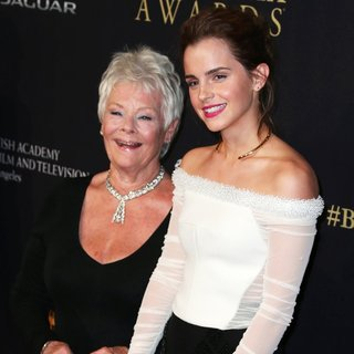 Judi Dench, Emma Watson in 2014 BAFTA Los Angeles Jaguar Britannia Awards Presented by BBC America and United Airlines