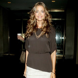 Denise Richards at NBC Studios to Appear on The Today Show