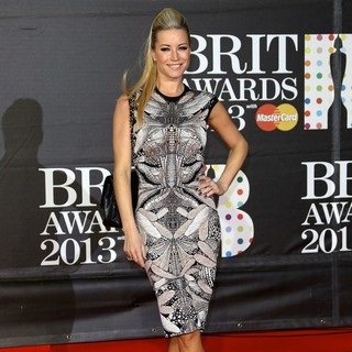 Denise Van Outen in The 2013 Brit Awards - Arrivals