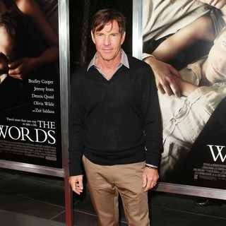 Dennis Quaid in The Premiere of CBS Films' The Words - Red Carpet