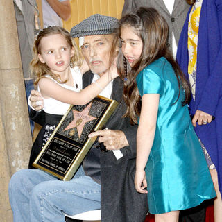 Dennis Hopper is honored with the 2,403rd Star on the Hollywood Walk of Fame