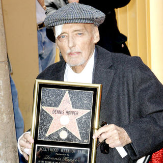 Dennis Hopper in Dennis Hopper is honored with the 2,403rd Star on the Hollywood Walk of Fame