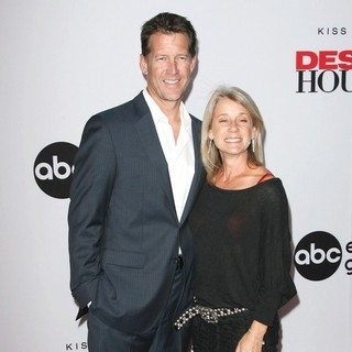 James Denton, Erin O'Brien in Desperate Housewives Final Season Kick-Off Party