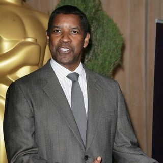 Denzel Washington in 85th Academy Awards Nominees Luncheon