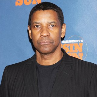 Denzel Washington in Opening Night After Party for A Raisin - Arrivals