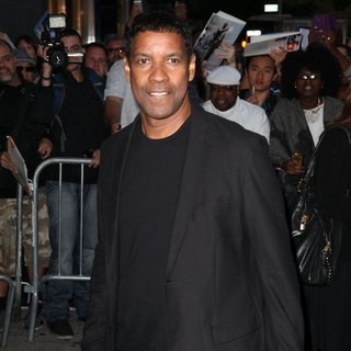 Denzel Washington in Special IMAX Experience Screening of The Equalizer - Arrivals