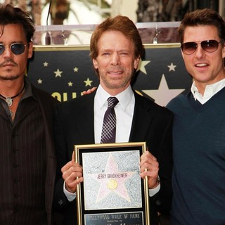 Johnny Depp - Jerry Bruckheimer Honored on The Hollywood Walk of Fame