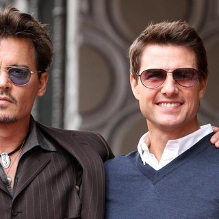 Johnny Depp, Tom Cruise in Jerry Bruckheimer Honored on The Hollywood Walk of Fame