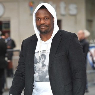 Dereck Chisora in The UK Premiere of Rock of Ages