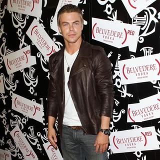 Derek Hough in Belvedere RED Brings The Box to LA Celebration Launch Party