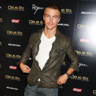 Derek Hough in Deus Ex: Human Revolution Launch Party