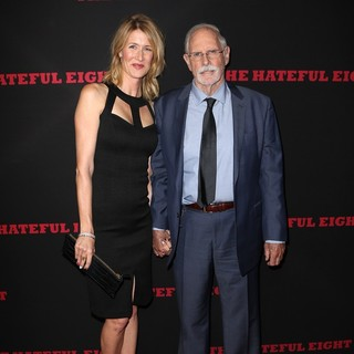 Laura Dern, Bruce Dern in Premiere of The Weinstein Company's The Hateful Eight - Red Carpet Arrivals