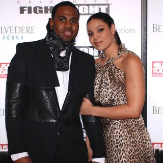 Jason Derulo, Jordin Sparks in Muhammad Ali's Celebrity Fight Night XIII