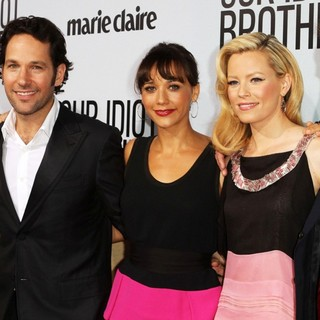 Zooey Deschanel, Paul Rudd, Rashida Jones, Elizabeth Banks, Jesse Peretz in Our Idiot Brother - Los Angeles Premiere