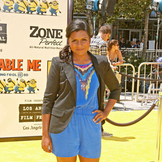 "Mindy Kaling in Los Angeles Premiere Of Universal Pictures' ""Despicable Me"" - Arrivals"
