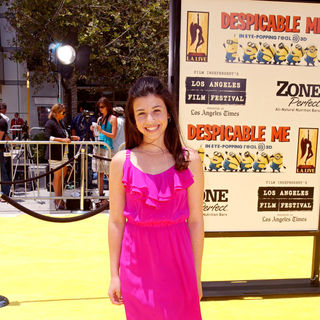 "Dana Gaier in Los Angeles Premiere Of Universal Pictures' ""Despicable Me"" - Arrivals"
