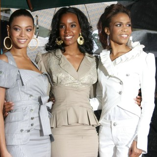 Destiny's Child Honoured with The 2,305th Star on The Hollywood Walk of Fame