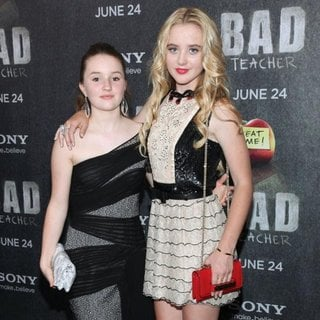 Kaitlyn Dever, Kathryn Newton in World Premiere of Bad Teacher - Arrivals