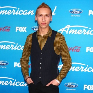 Devin Velez in FOX's American Idol Finalists Party