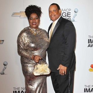 Loretta Devine, Glenn Marshall in The 44th NAACP Image Awards