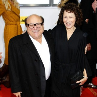 Danny DeVito, Rhea Perlman in The Goldene Kamera (Golden Camera) Awards