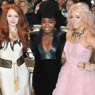 Janet Devlin, Misha Bryan, Amelia Lily in The Twilight Saga's Breaking Dawn Part I UK Film Premiere - Arrivals