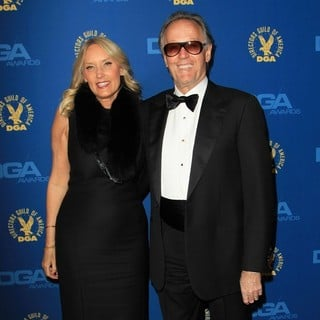 Margaret DeVogelaere, Peter Fonda in 65th Annual Directors Guild of America Awards - Arrivals