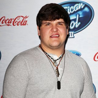 Dexter Roberts in FOX's American Idol XIII Finalists Party
