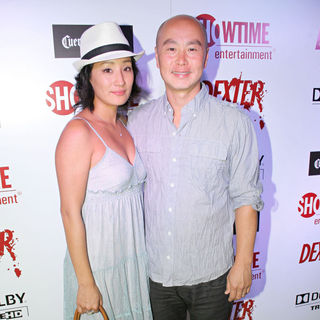 Lara Cho, C.S. Lee in Dexter Season Four Blu-Ray and DVD Release Party