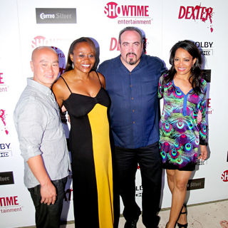 C.S. Lee, David Zayas, Lauren Velez in Dexter Season Four Blu-Ray and DVD Release Party