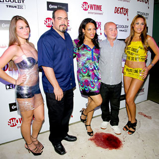 David Zayas, Lauren Velez, C.S. Lee in Dexter Season Four Blu-Ray and DVD Release Party
