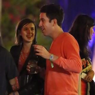 Agyness Deyn, Nick Grimshaw in The 2013 Coachella Valley Music and Arts Festival - Week 1 Day 2