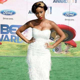 Diamond in BET Awards 2011