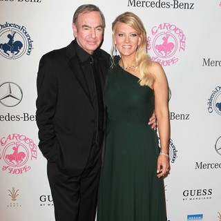 Neil Diamond, Katie McNeil in 26th Anniversary Carousel of Hope Ball - Presented by Mercedes-Benz - Arrivals