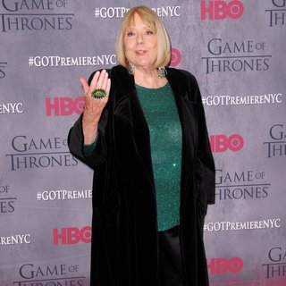 Diana Rigg in New York Premiere of The Fourth Season of Game of Thrones - Red Carpet Arrivals