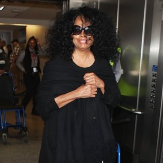 Diana Ross in Diana Ross Arrives at LAX