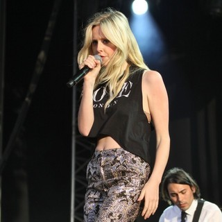 Diana Vickers in Diana Vickers Performs at The Lytham Proms