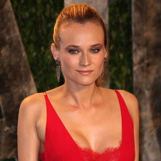 Diane Kruger in 2012 Vanity Fair Oscar Party - Arrivals - diane-kruger-2012-vanity-fair-oscar-party-03