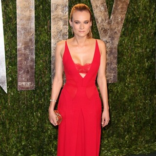 Diane Kruger in 2012 Vanity Fair Oscar Party - Arrivals - diane-kruger-2012-vanity-fair-oscar-party-04