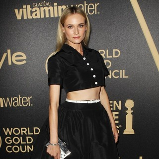 Diane Kruger in Miss Golden Globe 2013 Party Hosted by The HFPA and InStyle