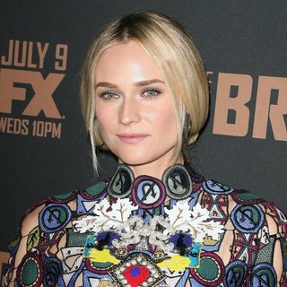 Diane Kruger in FX's The Bridge Premiere