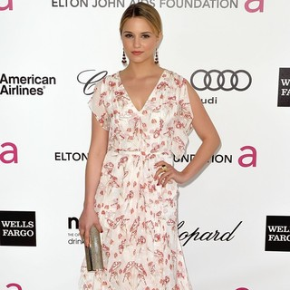 Dianna Agron in The 20th Annual Elton John AIDS Foundation's Oscar Viewing Party - Arrivals