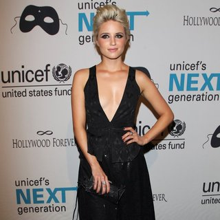 Dianna Agron in Next Generation's 2nd Annual UNICEF Masquerade Ball - Arrivals