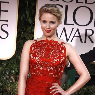 Dianna Agron in The 69th Annual Golden Globe Awards - Arrivals